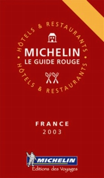 Urban Resources : Guide Michelin, Guide Rouge 2003, Red Guide 2003