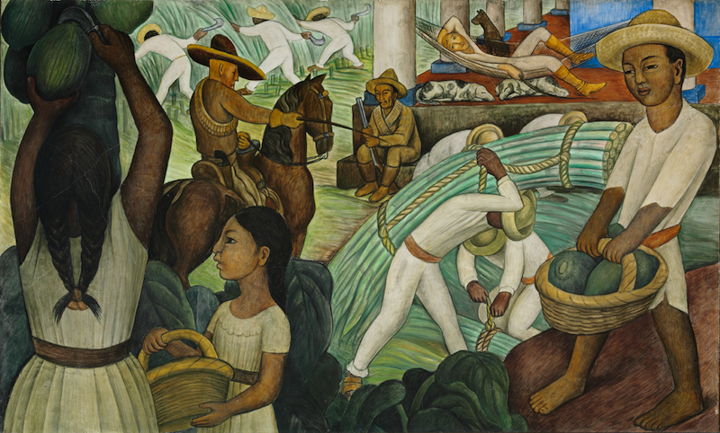 Art history news diego rivera murals for the museum of for Diego rivera s most famous mural
